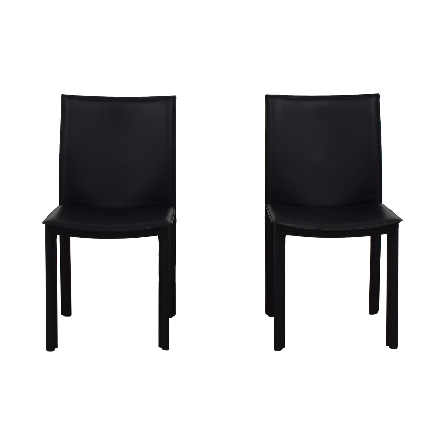 buy  Black Leather Chairs online
