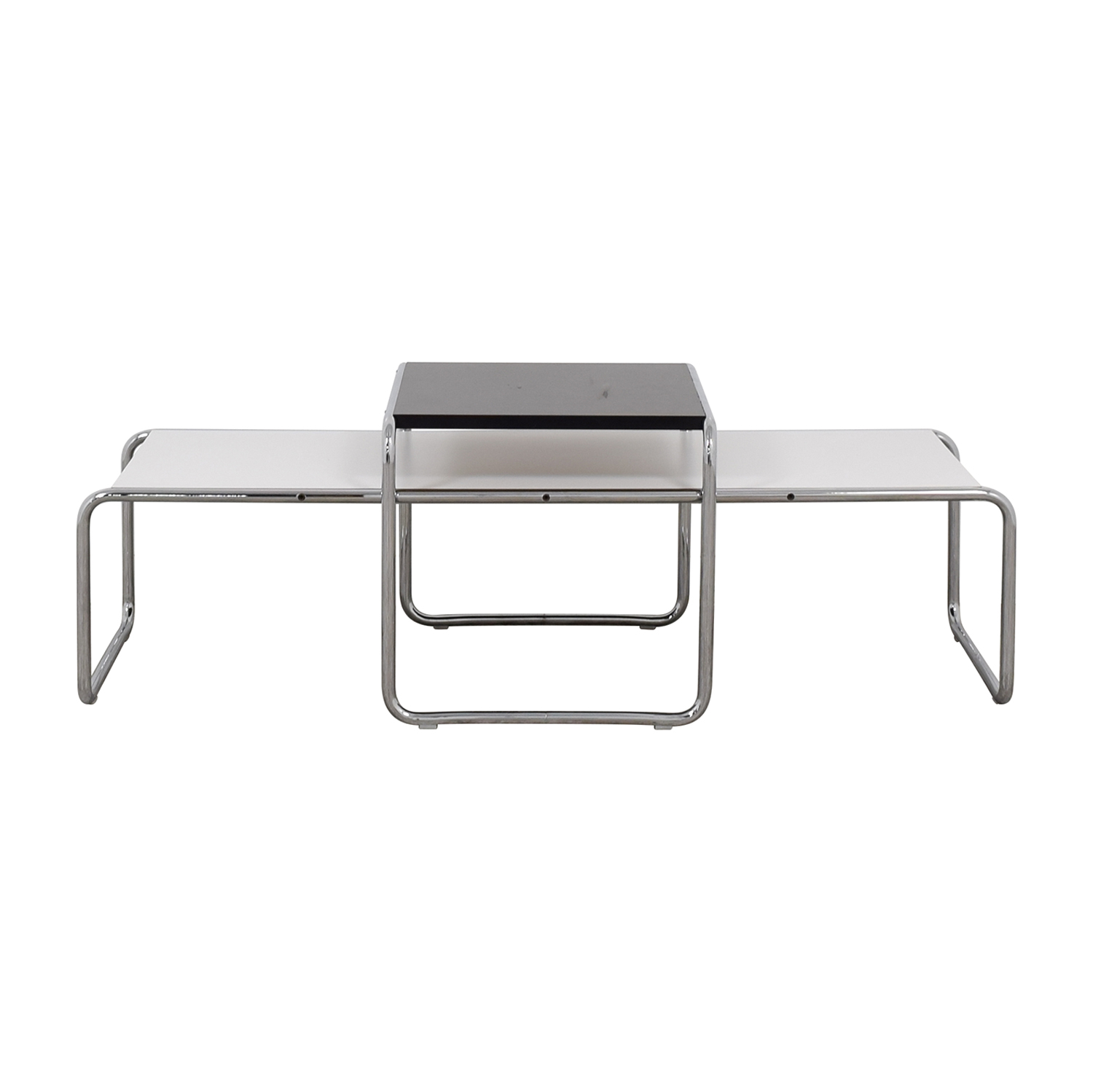 Knoll Laccio Coffee Table and Side Table nyc