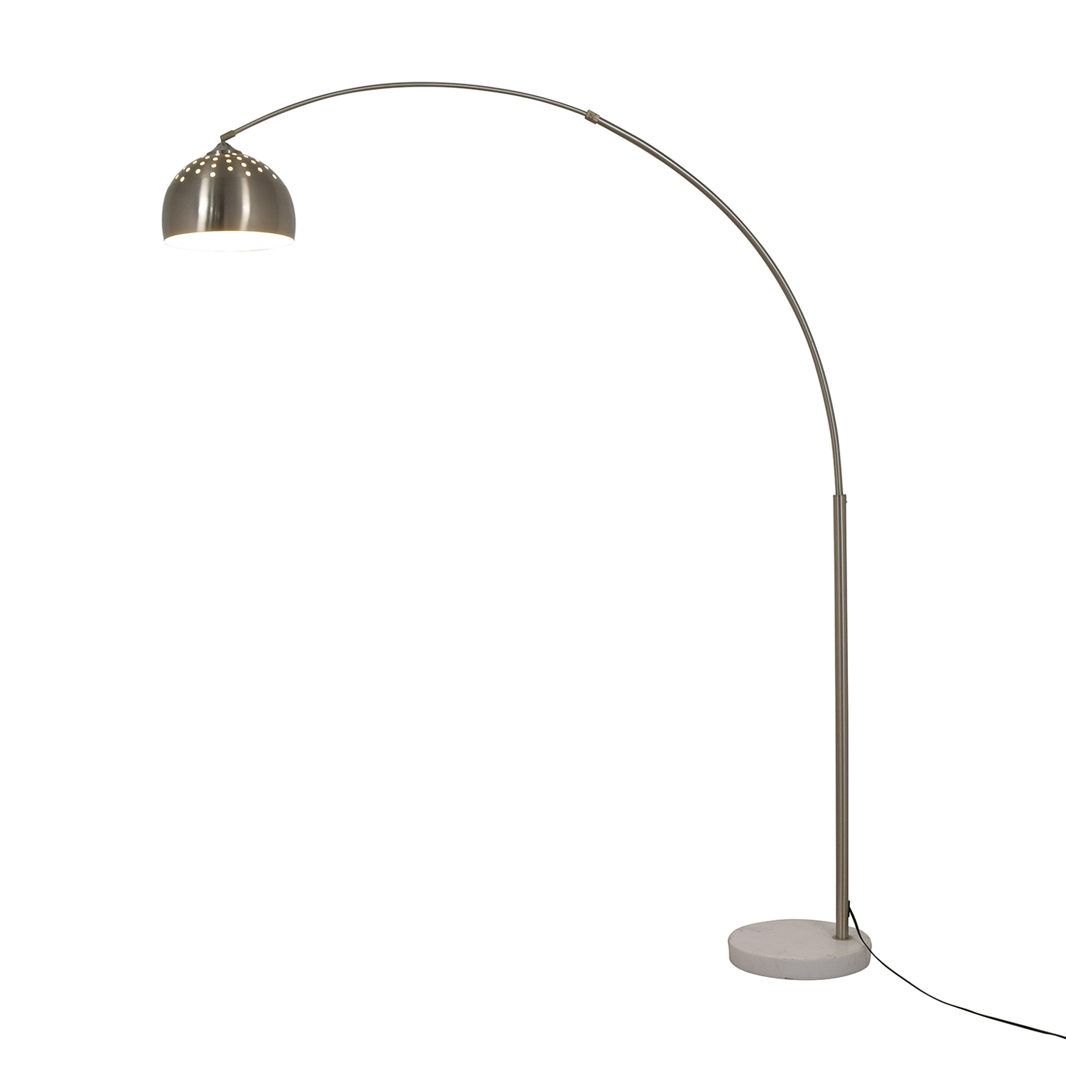 Chrome Arched Floor Lamp