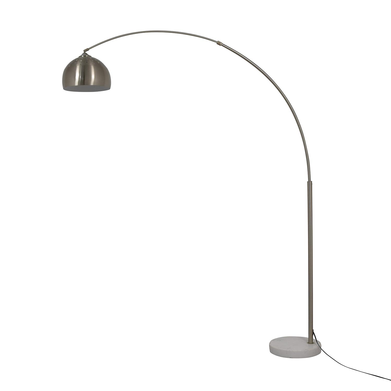 shop  Chrome Arched Floor Lamp online