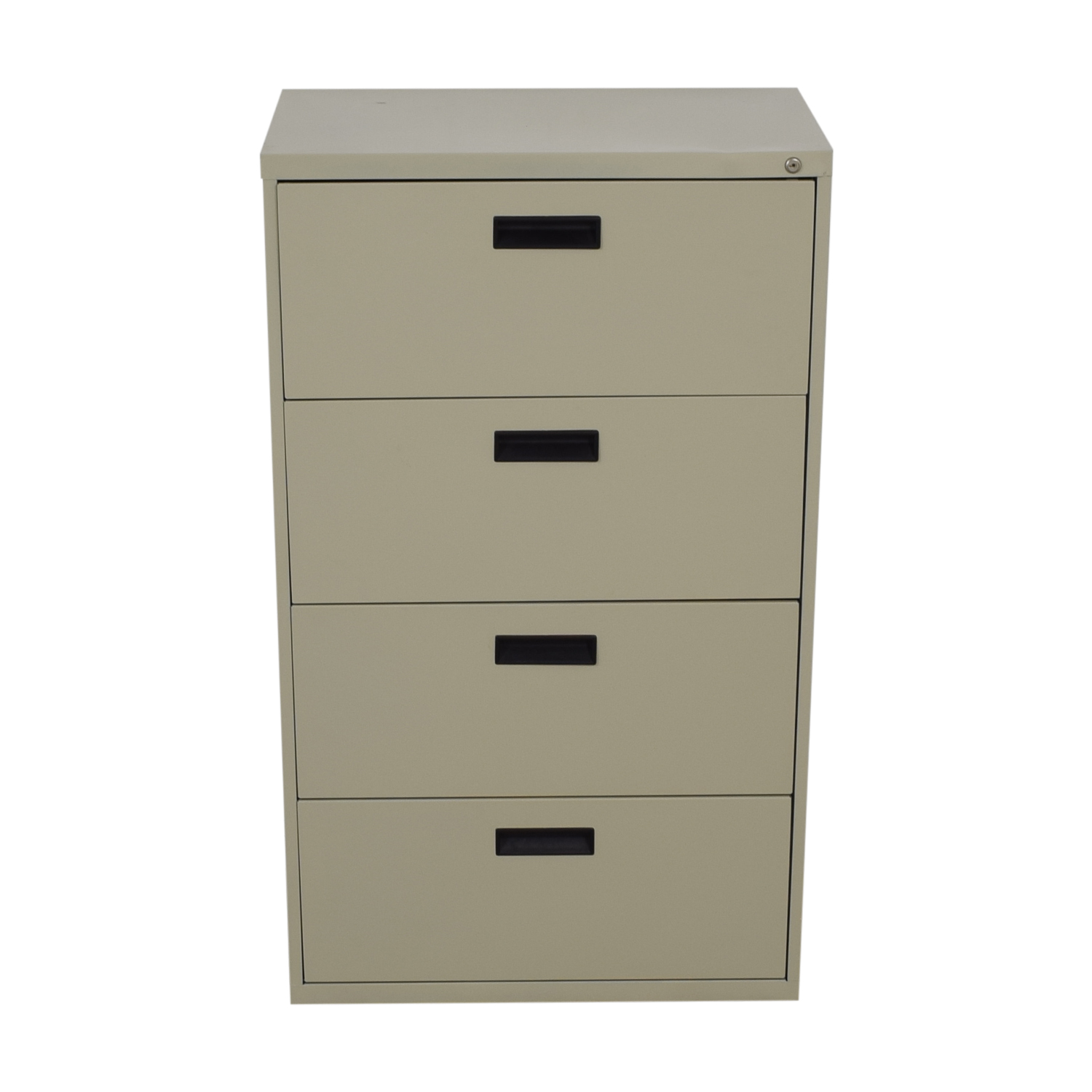 Beige Four-Drawer Filing Cabinet Sofas