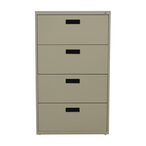 Sandusky Sandusky Four Drawer Lateral File Cabinet nj
