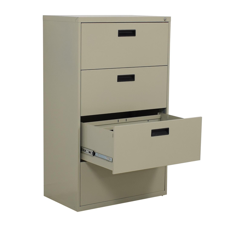 Sandusky Sandusky 4-Drawer Lateral File Cabinet coupon