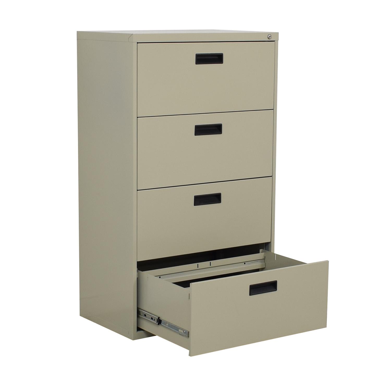 Sandusky Sandusky 4-Drawer Lateral File Cabinet used