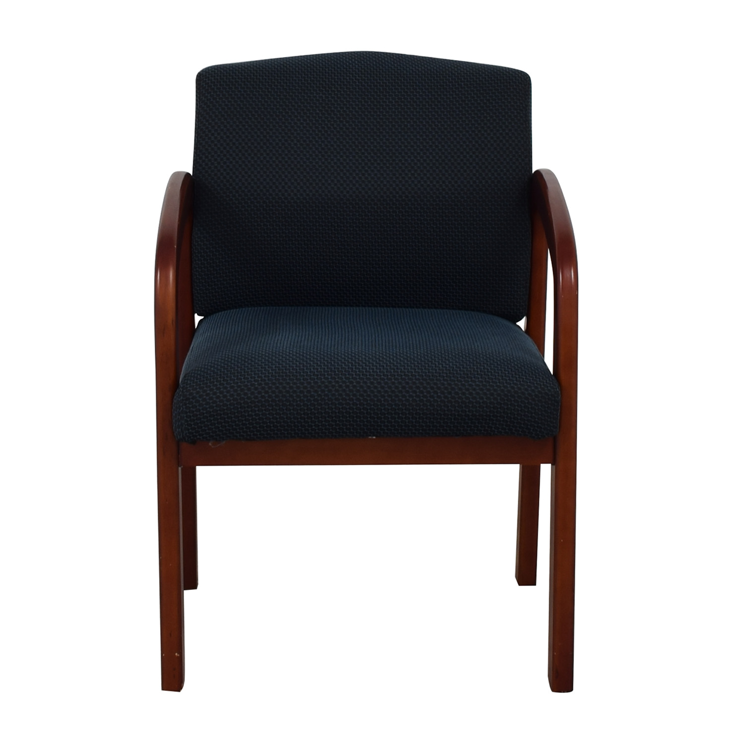Blue Upholstered Office Chair nyc