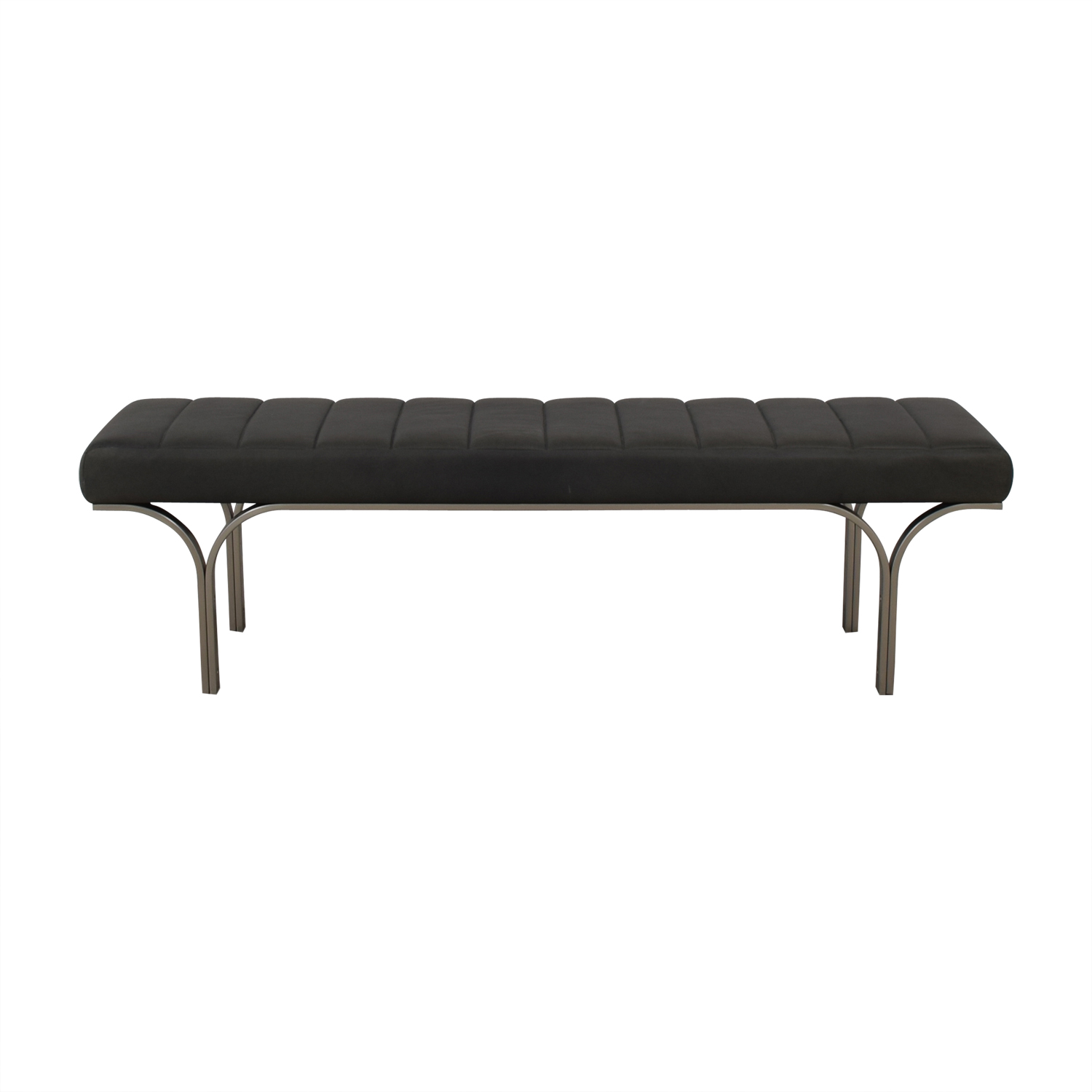 shop West Elm West Elm Emil Leather Bench online