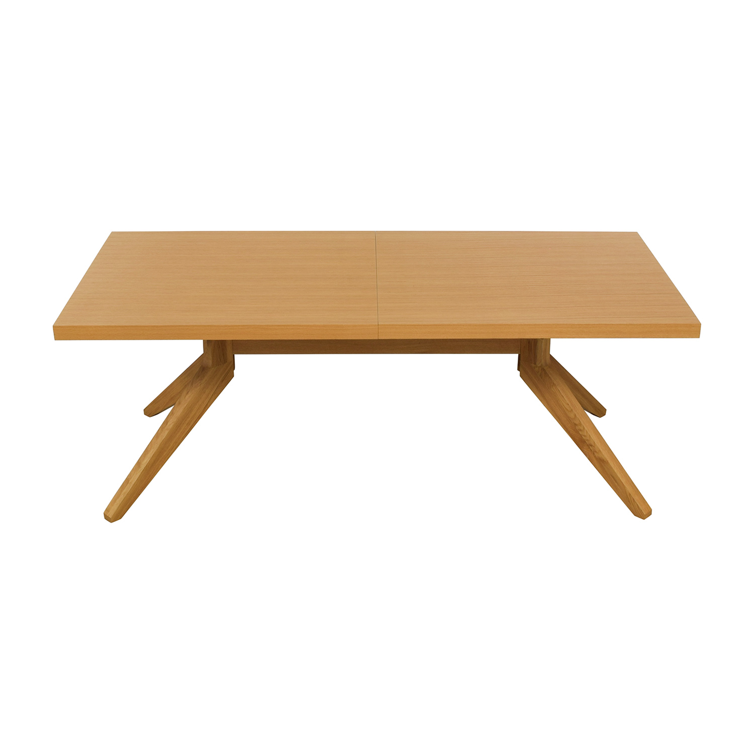 Design Within Reach Design Within Reach Case Oak Cross Extension Table Beech