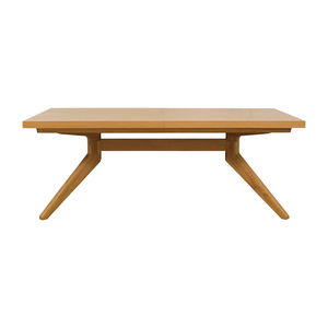 Design Within Reach Case Oak Cross Extension Table sale