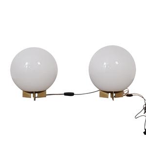 West Elm Globe Table Lamps / Decor