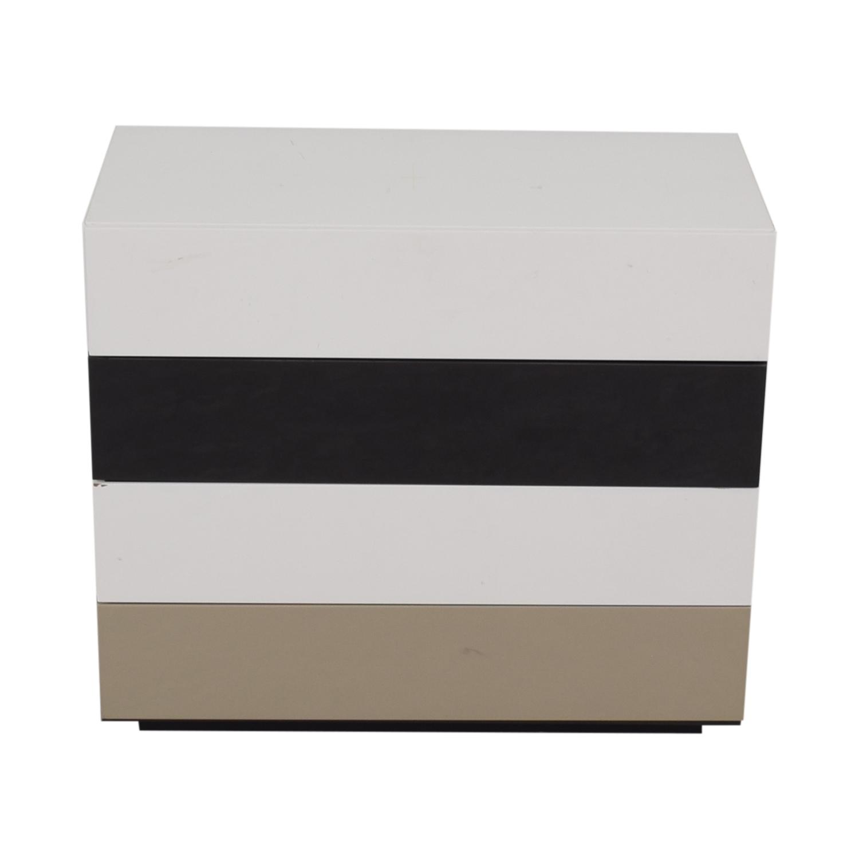 shop Bensen Bensen Brix Four-Drawer Multi-Colored Dresser online