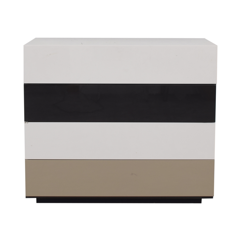 buy Bensen Brix Four-Drawer Multi-Colored Dresser Bensen