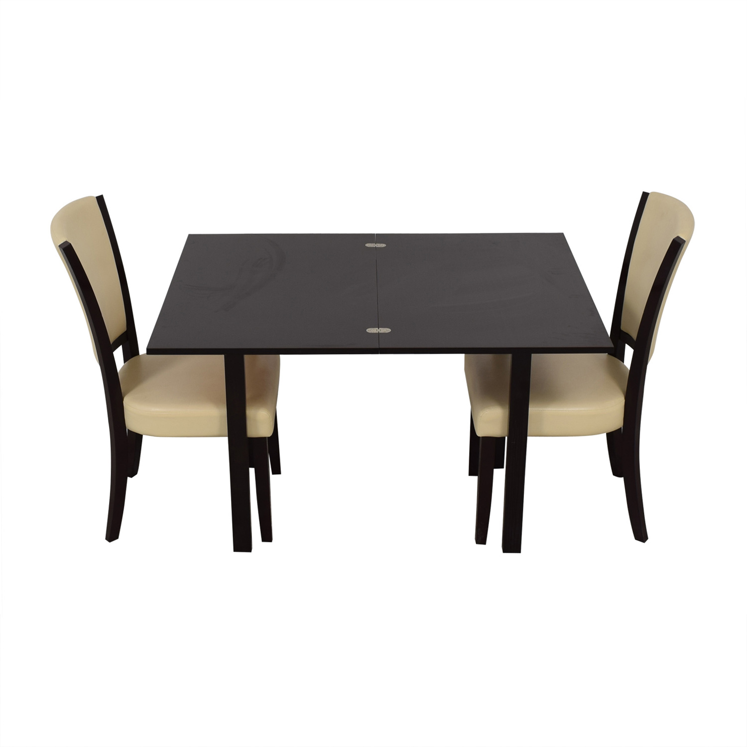 Coaster Fine Furniture Coaster Fine Furniture Flip Top Extendable Dining Set second hand