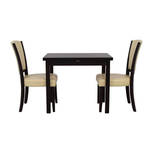 Coaster Fine Furniture Flip Top Extendable Dining Set / Tables