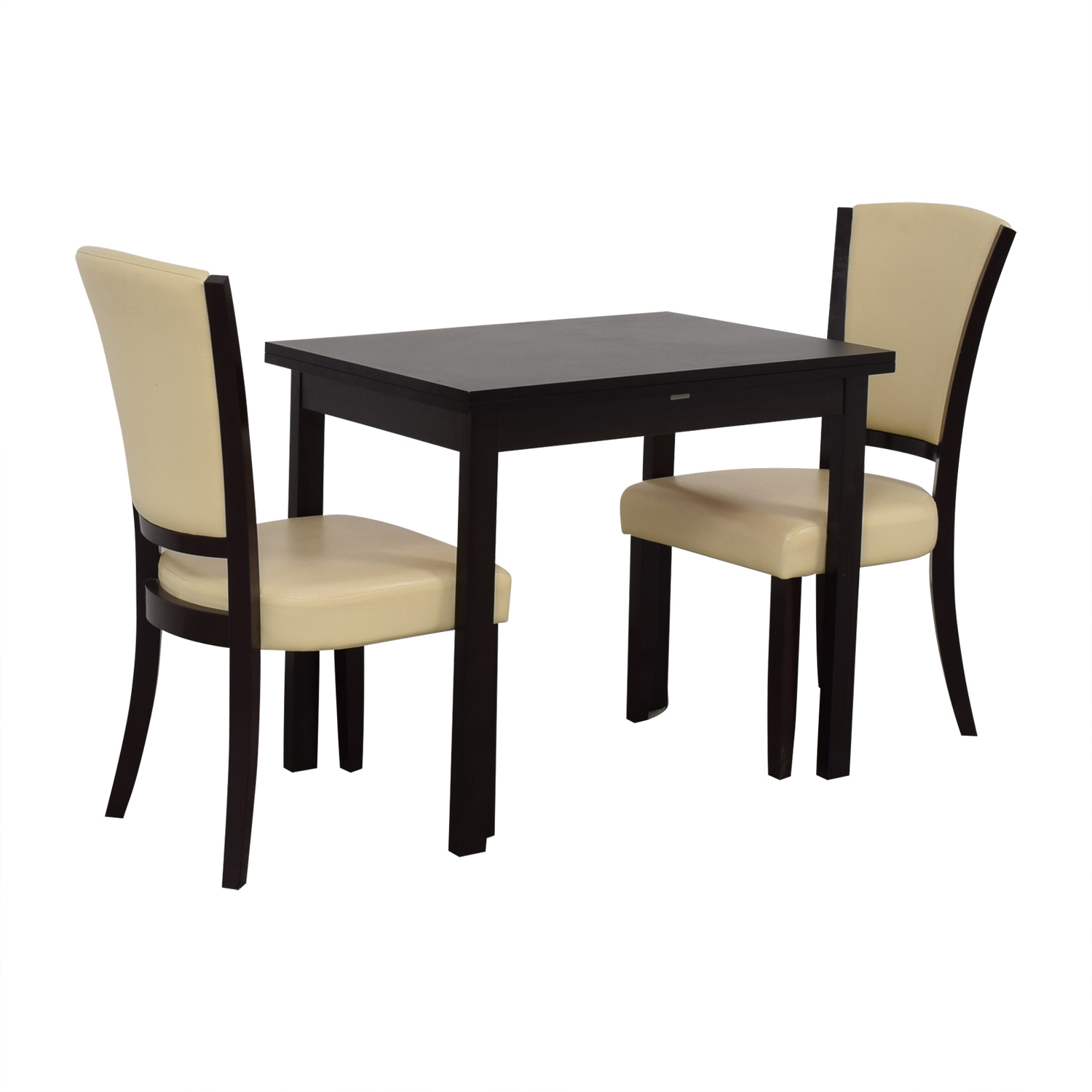 Coaster Fine Furniture Coaster Fine Furniture Flip Top Extendable Dining Set used