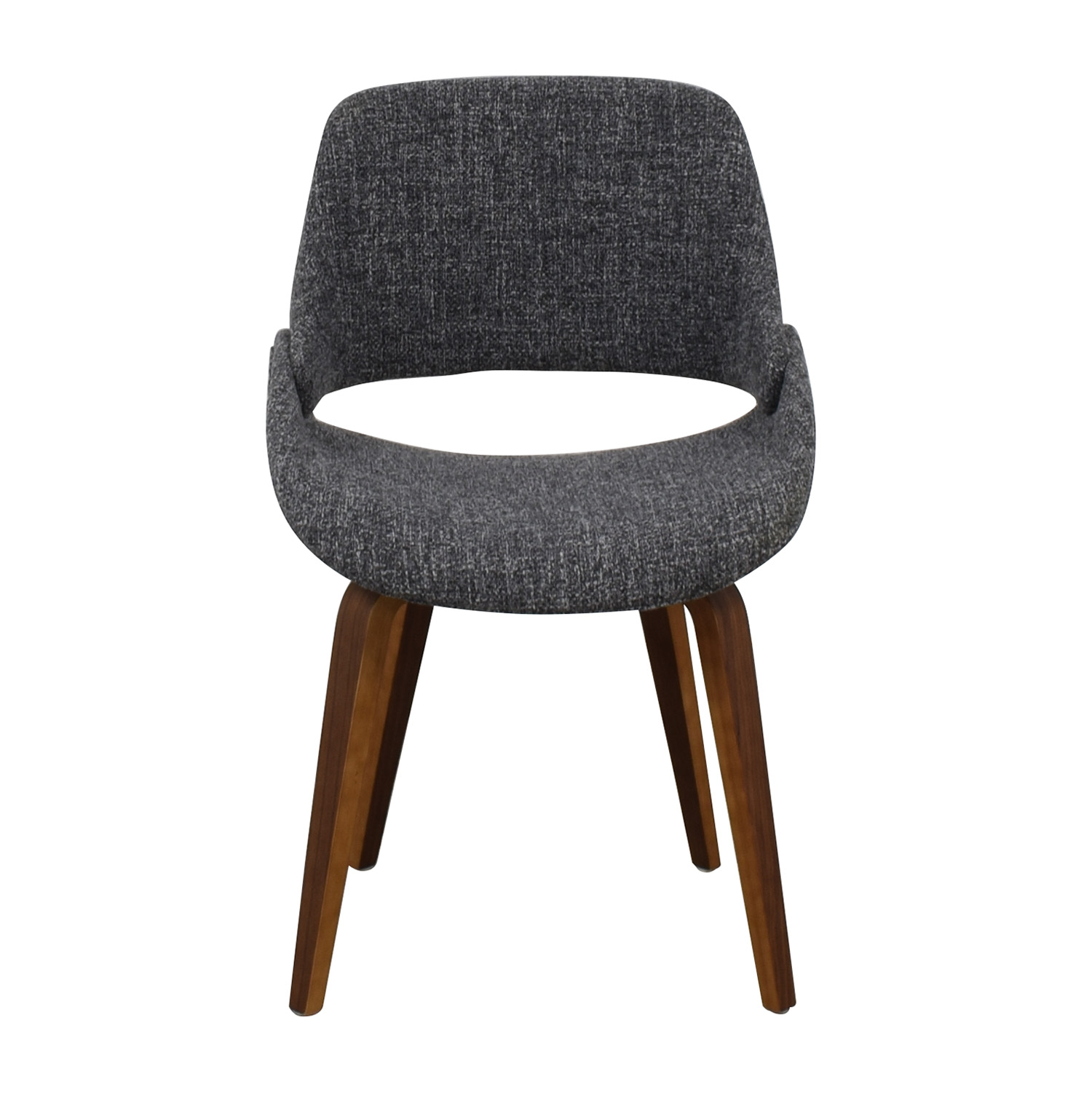 AllModern AllModern Aird Grey Upholstered Dining Chair Dining Chairs
