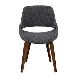 AllModern AllModern Aird Grey Upholstered Dining Chair used