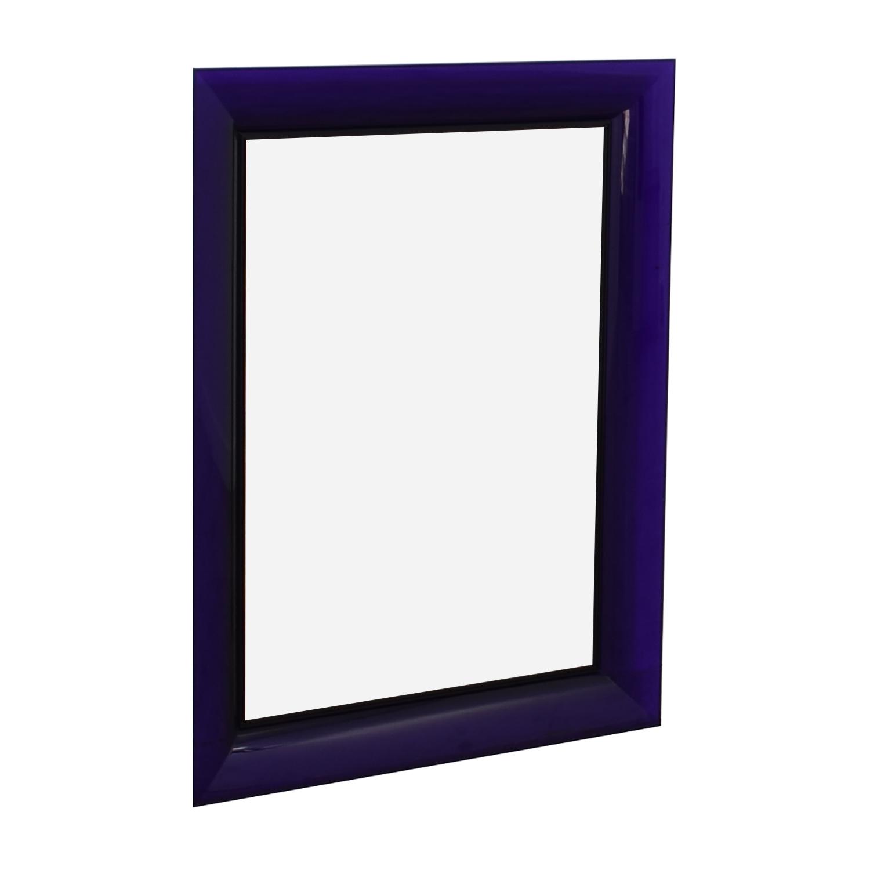 buy Kartell Kartell Philippe Starck Francois Ghost Tall Purple Mirror online