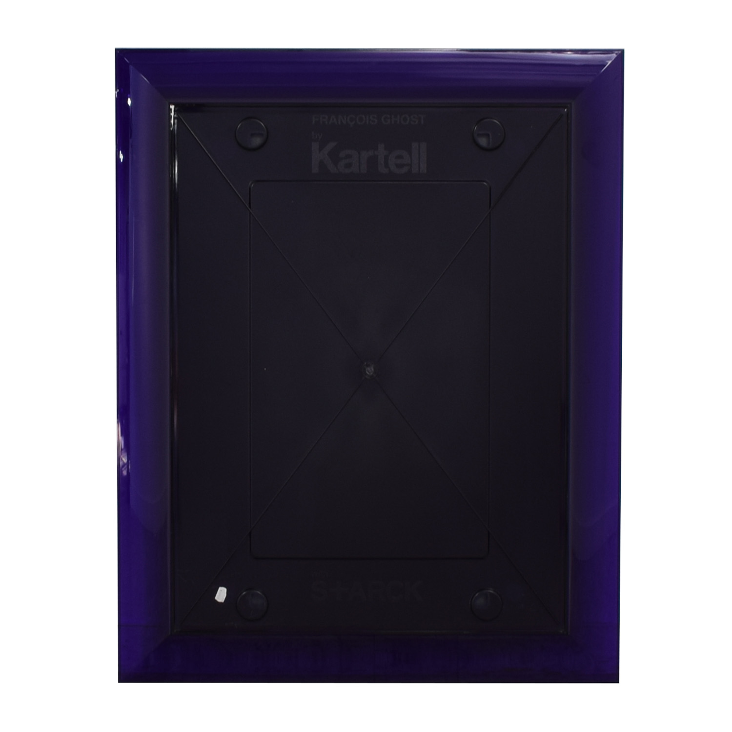buy Kartell Philippe Starck Francois Ghost Tall Purple Mirror Kartell