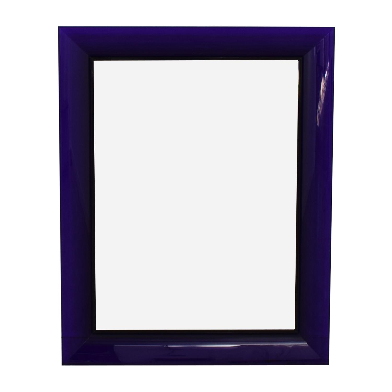 Kartell Kartell Philippe Starck Francois Ghost Tall Purple Mirror nj