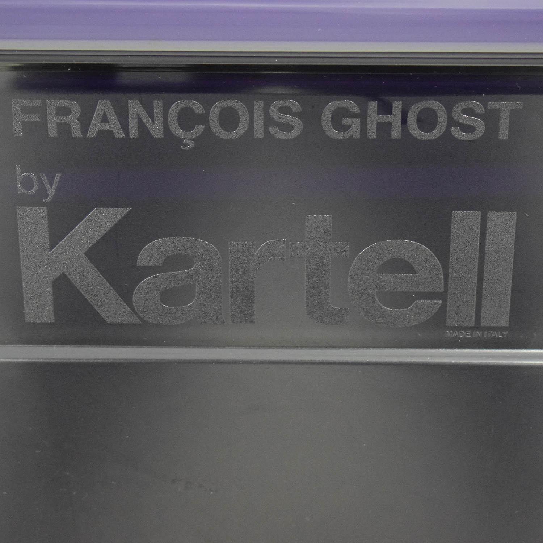 Kartell Kartell Philippe Starck Francois Ghost Tall Purple Mirror discount