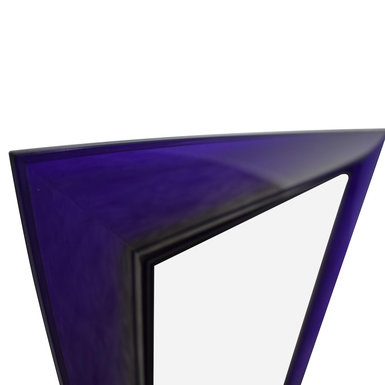 Kartell Kartell Philippe Starck Francois Ghost Tall Purple Mirror used