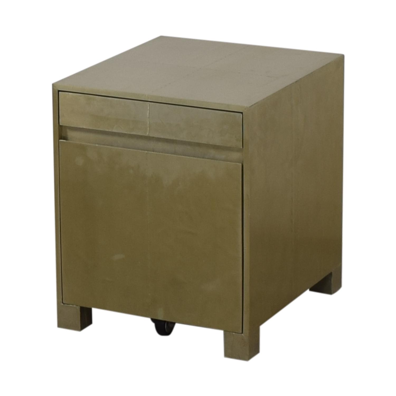 West Elm West Elm Parsons Metal Filing Cabinet on sale