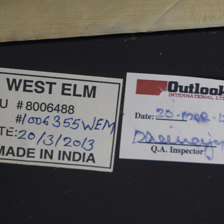 West Elm Parsons Metal Filing Cabinet West Elm