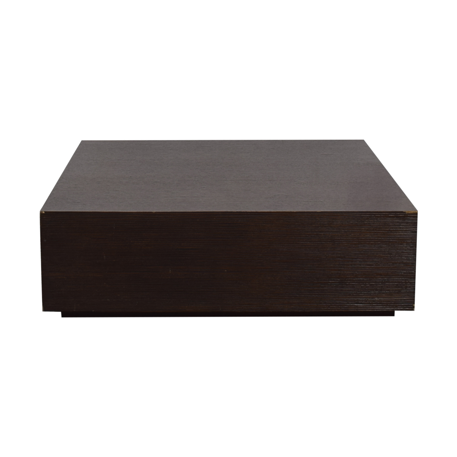 Espresso Wood Coffee Table dimensions