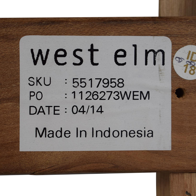 West Elm Grey Queen Bed Frame / Bed Frames