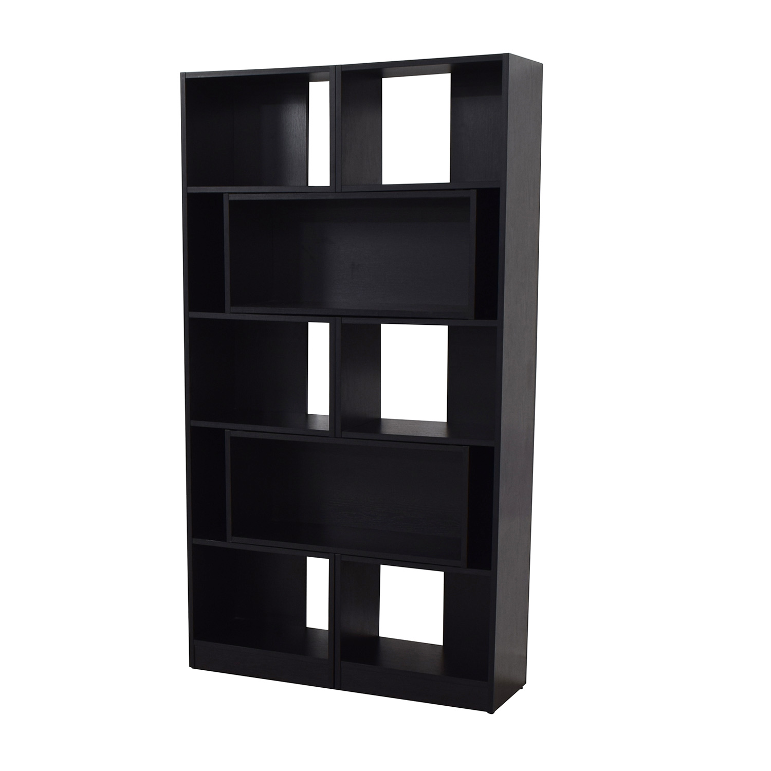 Crate & Barrel Crate & Barrel Puzzle Black Extendable Bookcase coupon