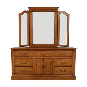 American Drew Dresser and Mirror American Drew
