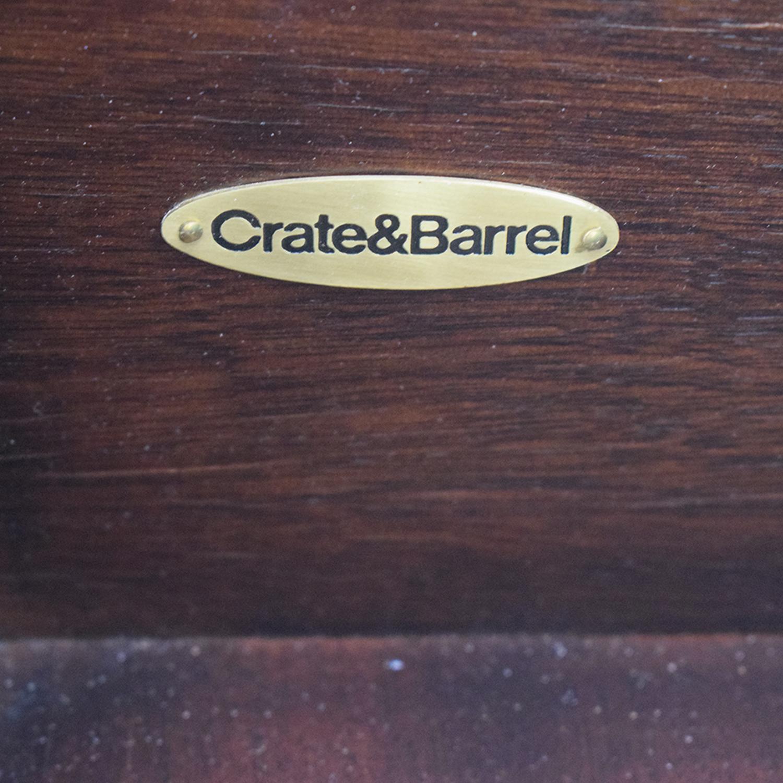 Crate & Barrel Crate & Barrel Media Center Storage Cabinet Storage