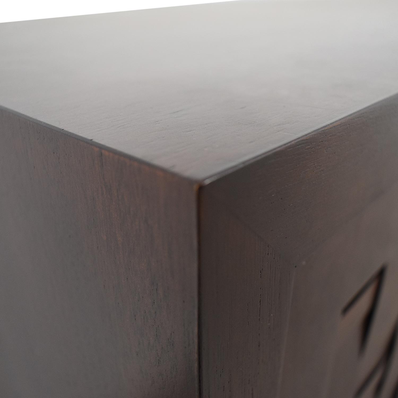 Crate & Barrel Crate & Barrel Media Center Storage Cabinet coupon