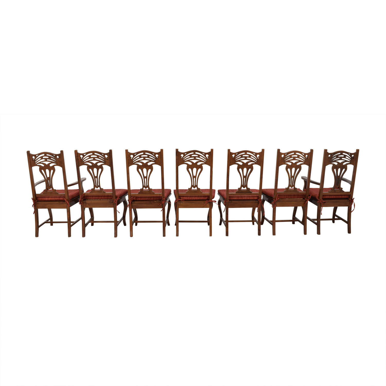 Custom Set of Dining Room Chairs price
