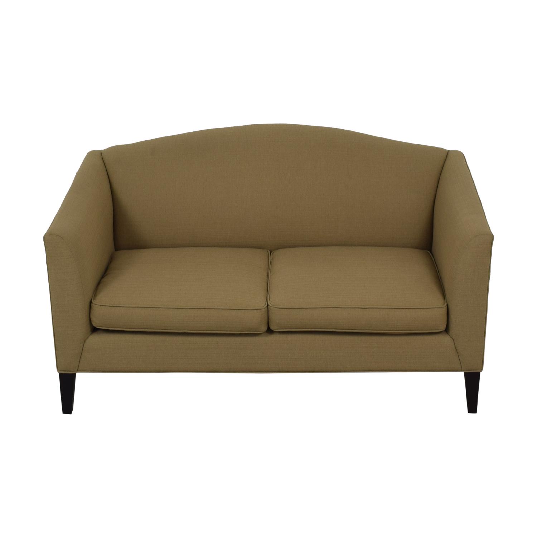 Room & Board Room & Board Flanagan Beige Two-Cushion Sofa nyc