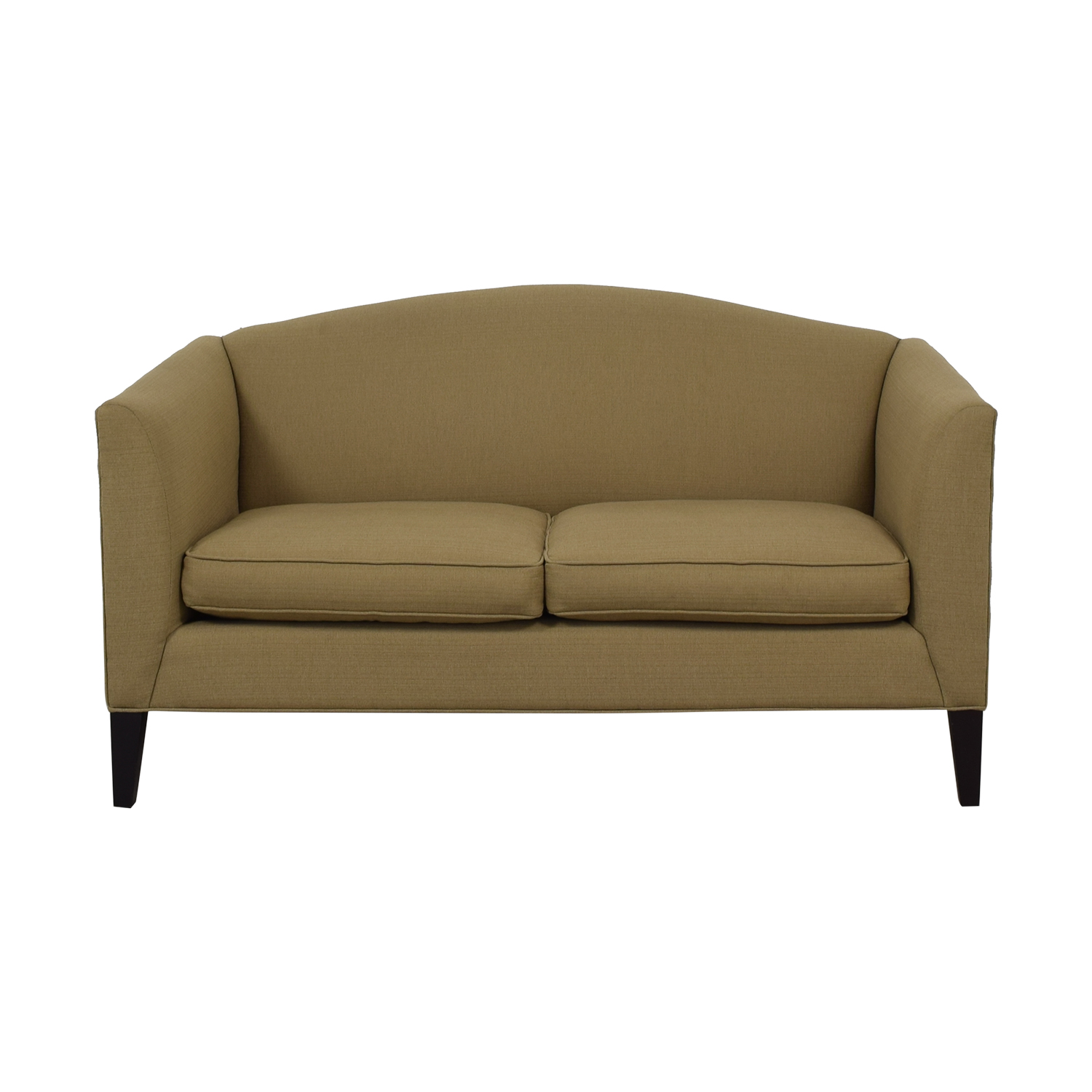 Room & Board Room & Board Flanagan Beige Two-Cushion Sofa Classic Sofas