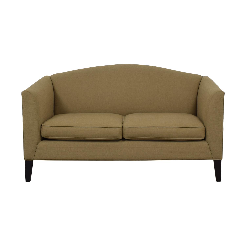 buy Room & Board Flanagan Beige Two-Cushion Sofa Room & Board