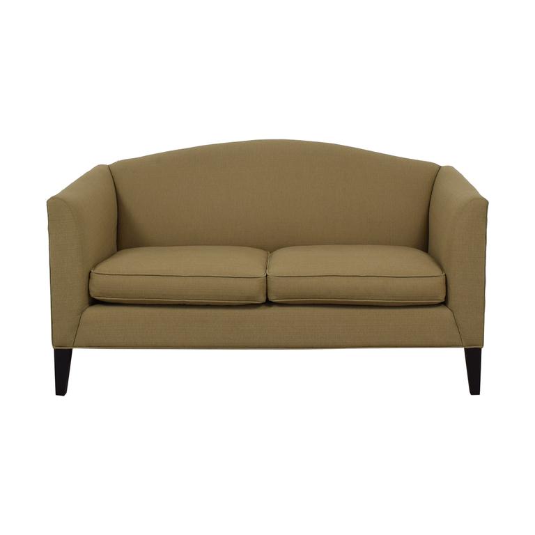 Room & Board Room & Board Flanagan Beige Two-Cushion Sofa Sofas