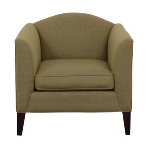 shop Room & Board Flanagan Grey Accent Chair Room & Board Chairs