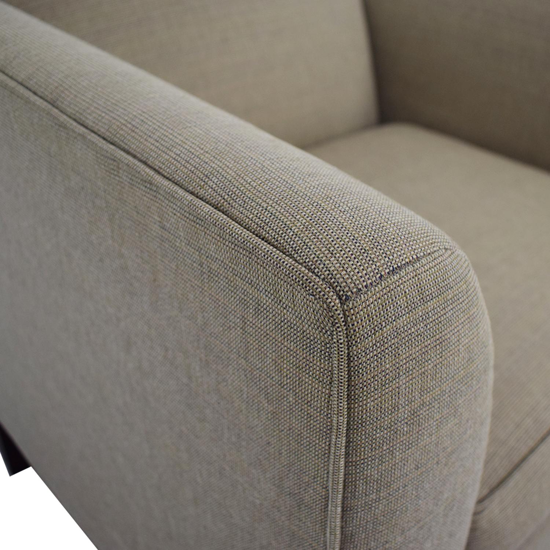 Room & Board Room & Board Flanagan Grey Accent Chair nyc