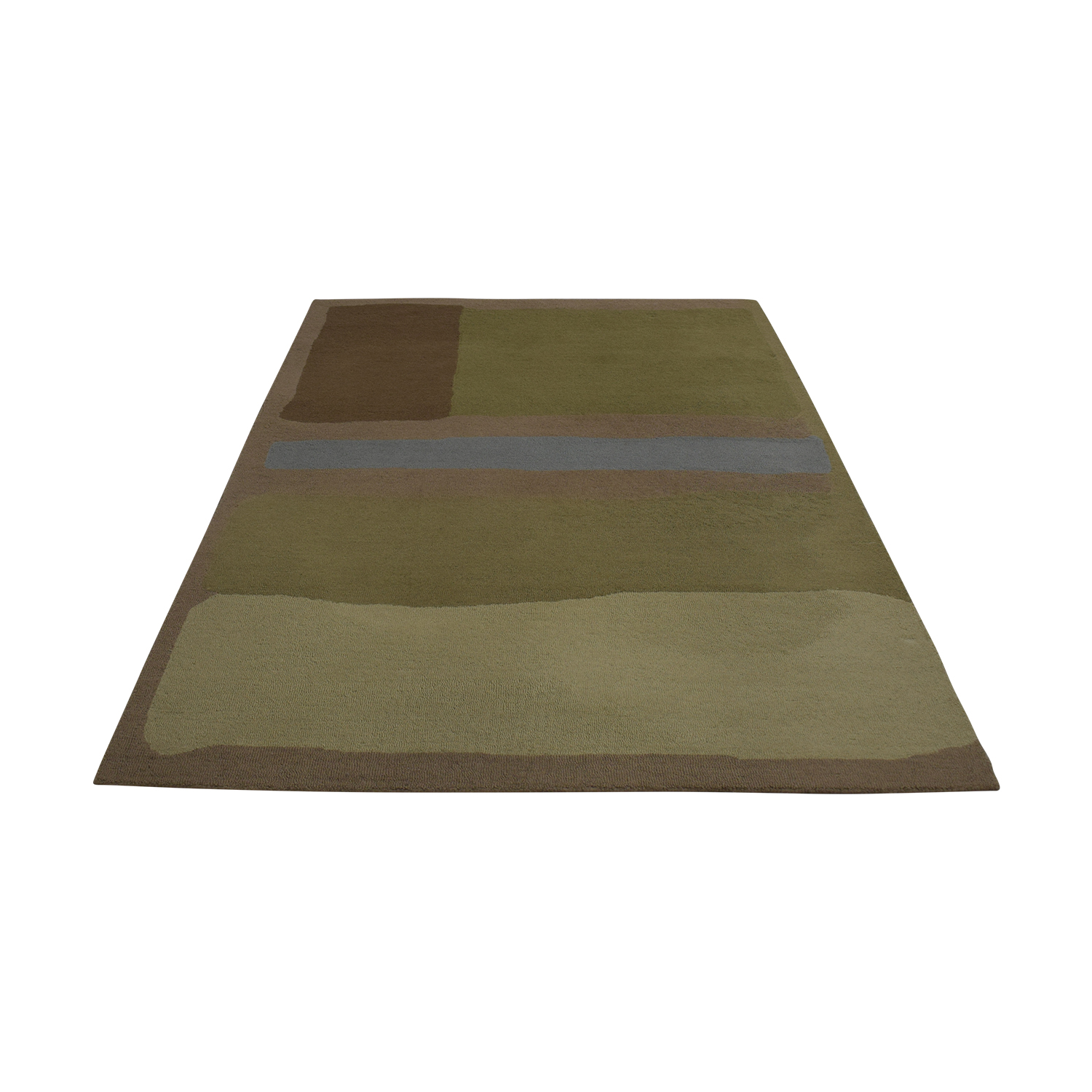 Room & Board Multi-Colored Abstract Rug sale