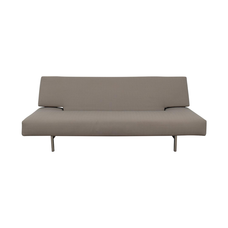 Innovation Living Grey Convertible Sofa sale