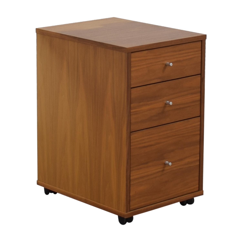 Room & Board Room & Board Sequel Rolling Three-Drawer File Cabinet Filing & Bins