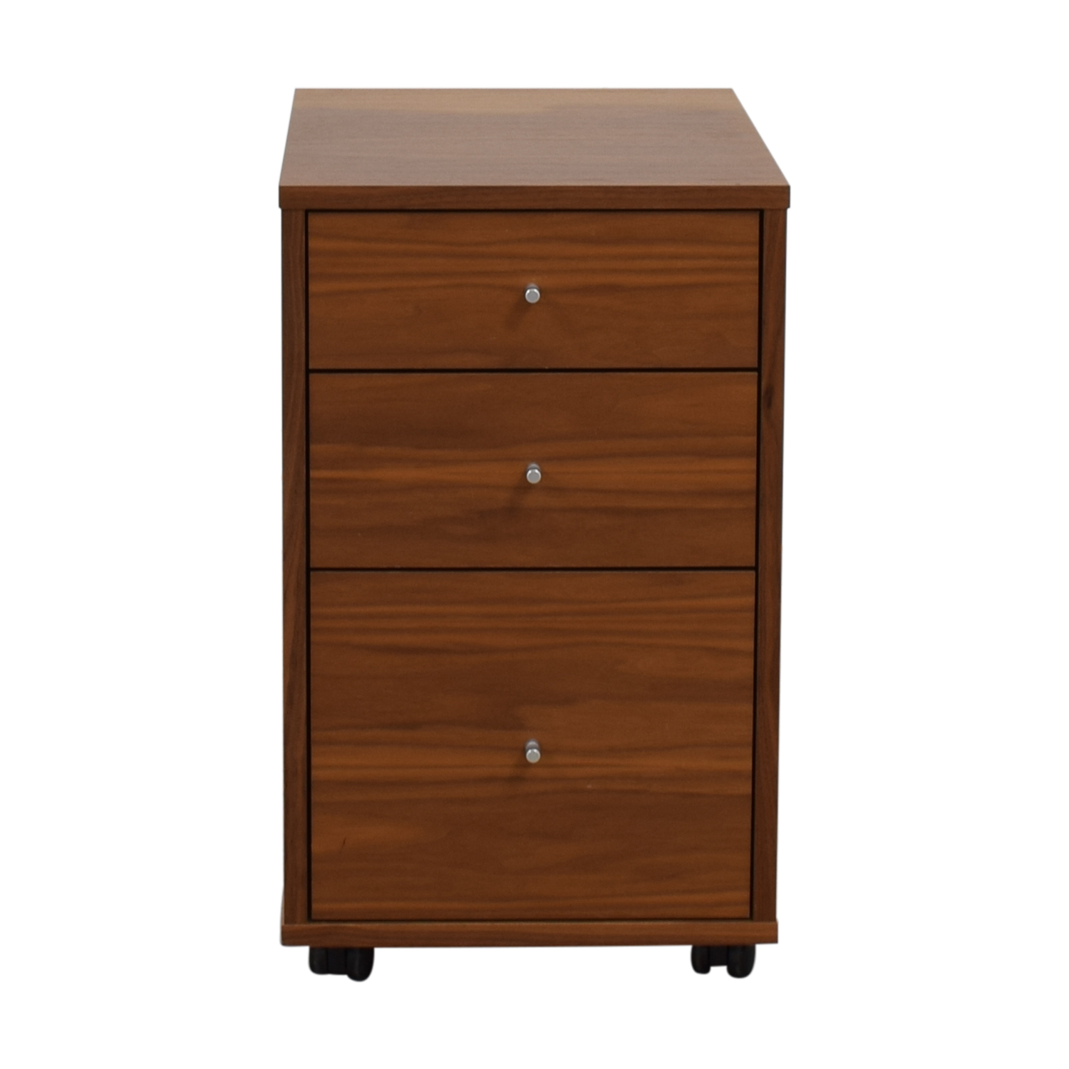 Room & Board Room & Board Sequel Rolling Three-Drawer File Cabinet nj