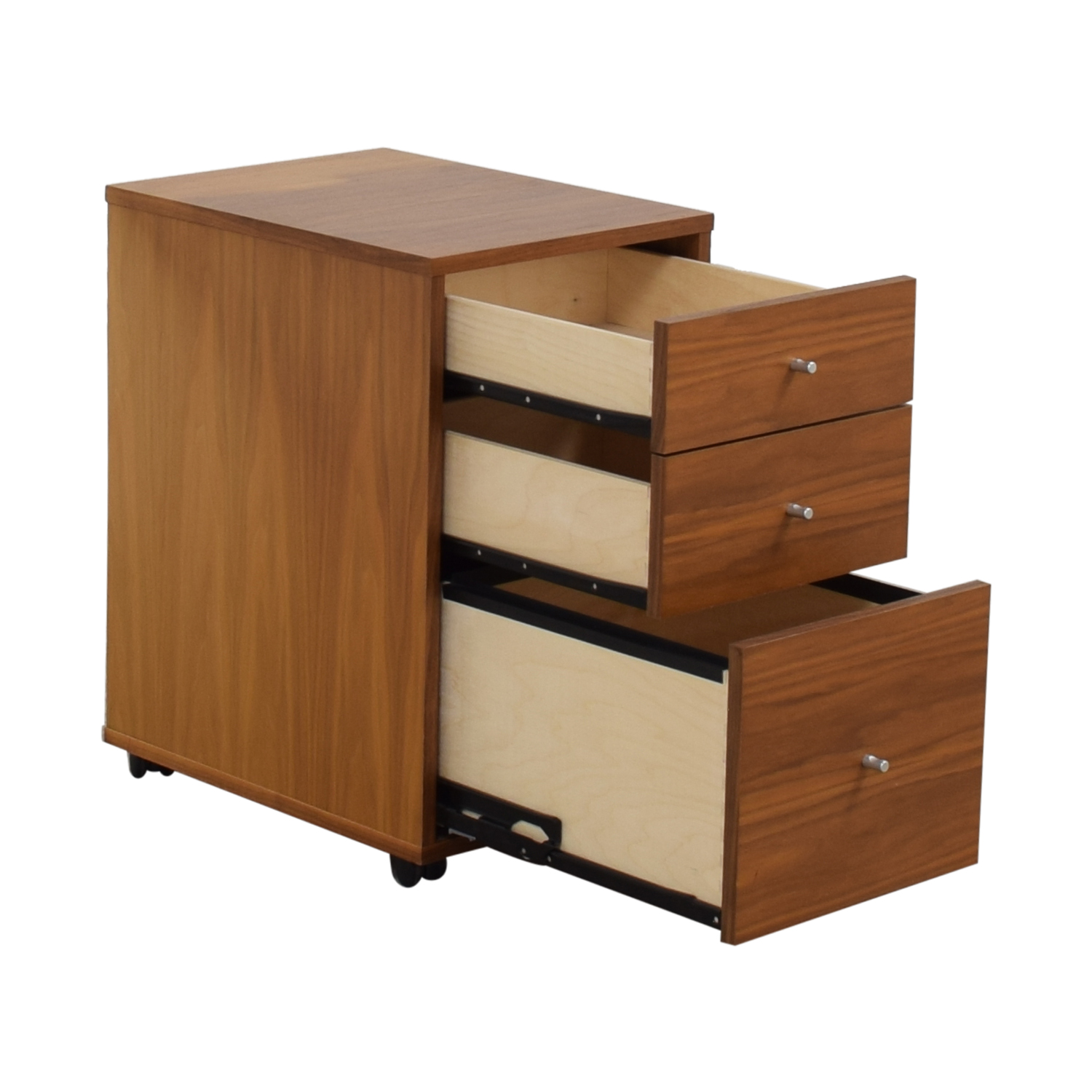 Room & Board Sequel Rolling Three-Drawer File Cabinet / Storage
