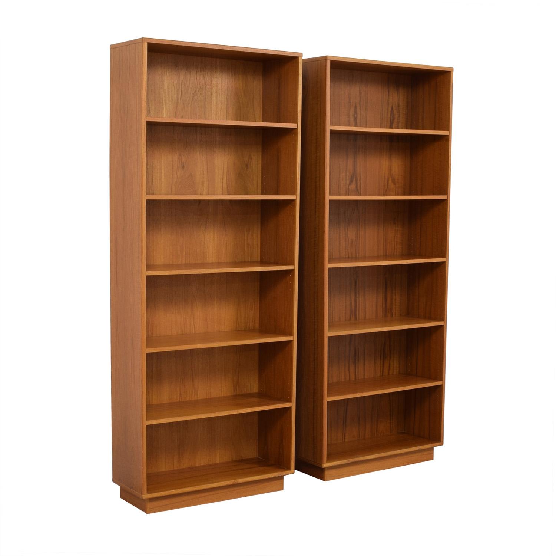 buy Teak Bookcases