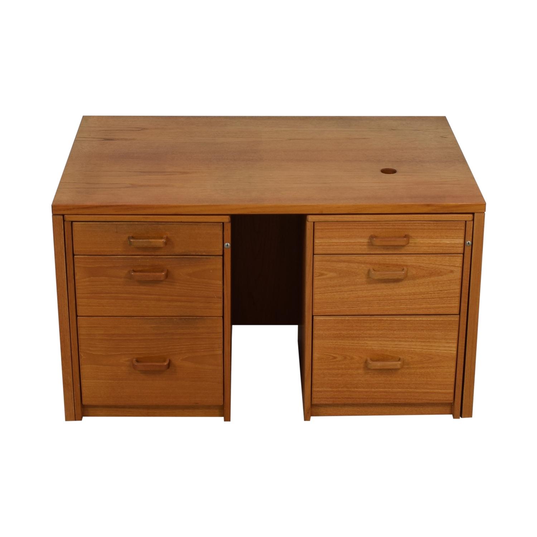 buy Sun Cabinet Sun Cabinet Six Drawer Teak Credenza or Desk online