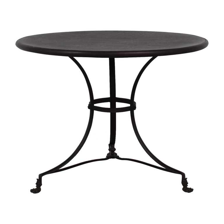 Restoration Hardware Restoration Hardware Round Wood Dining Table used