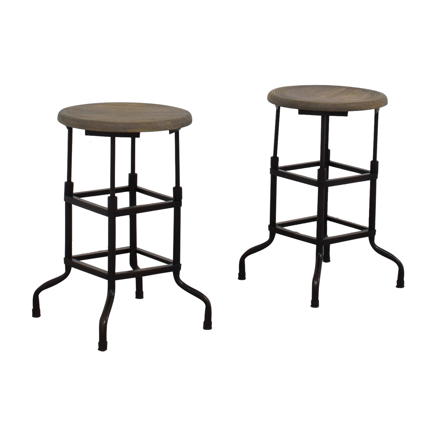 Admirable 69 Off Restoration Hardware Restoration Hardware 1920S American Factory Stools Chairs Gamerscity Chair Design For Home Gamerscityorg