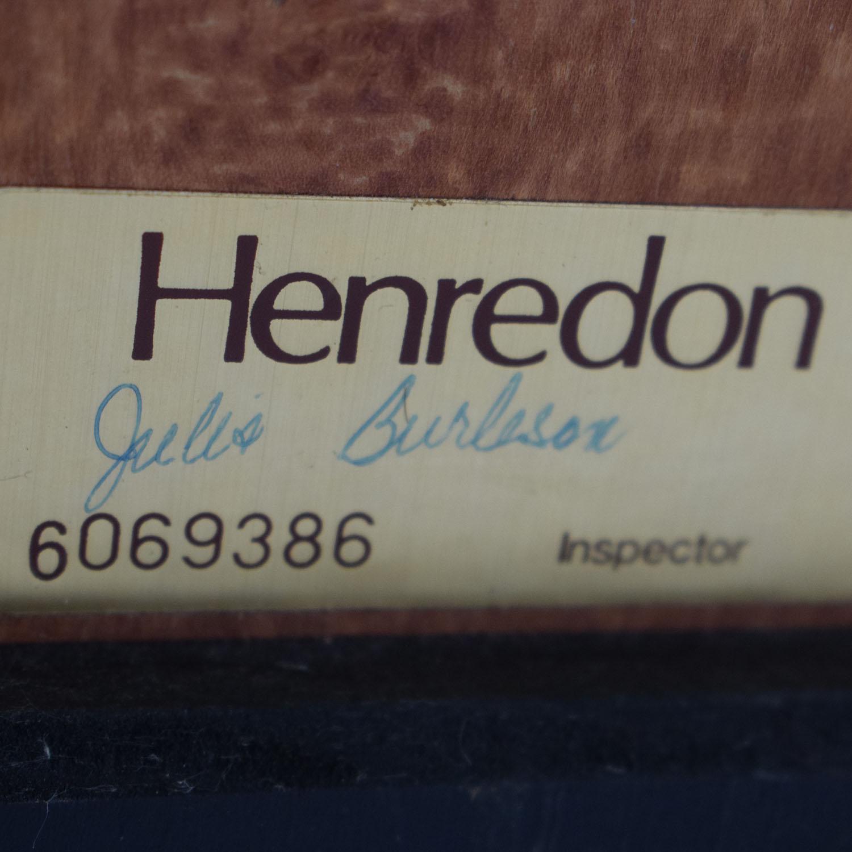 Hendredon Hendredon Vintage King Headboard dimensions